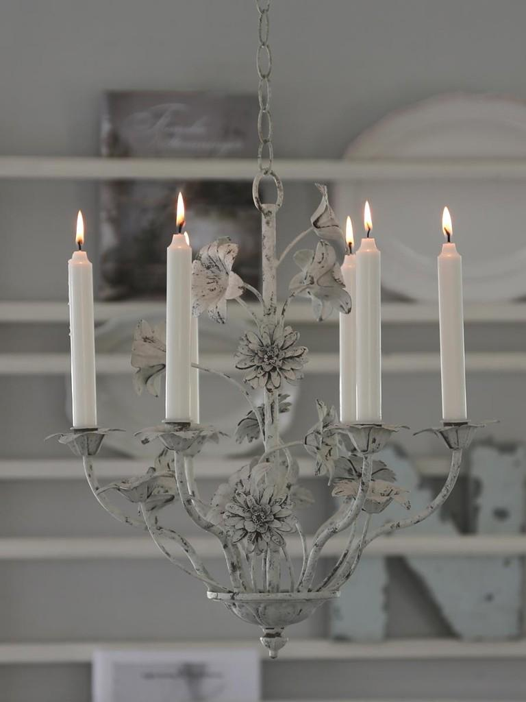 Kronleuchter für Kerzen (3363) | Lampen | Wohnen | Atelier Roosarot