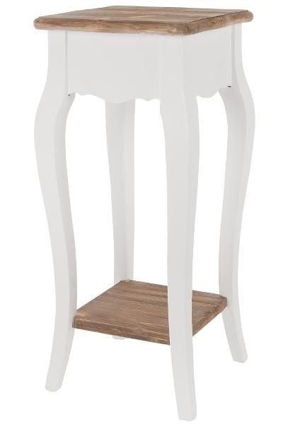 beistelltisch mit ablage 4278 beistelltische m bel atelier roosarot. Black Bedroom Furniture Sets. Home Design Ideas