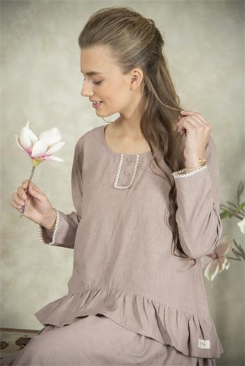Blouse Mathilde plum