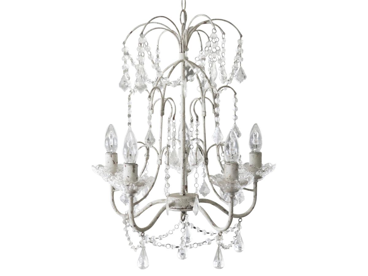 kronleuchter shabby chic 3259 lampen wohnen. Black Bedroom Furniture Sets. Home Design Ideas