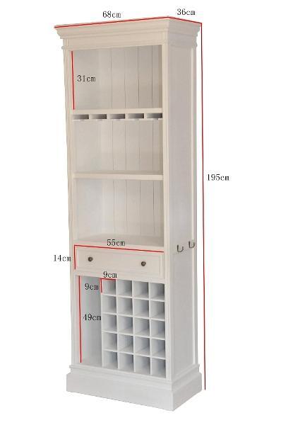 regal f r flaschen und gl ser 4466 regale vitrinen. Black Bedroom Furniture Sets. Home Design Ideas
