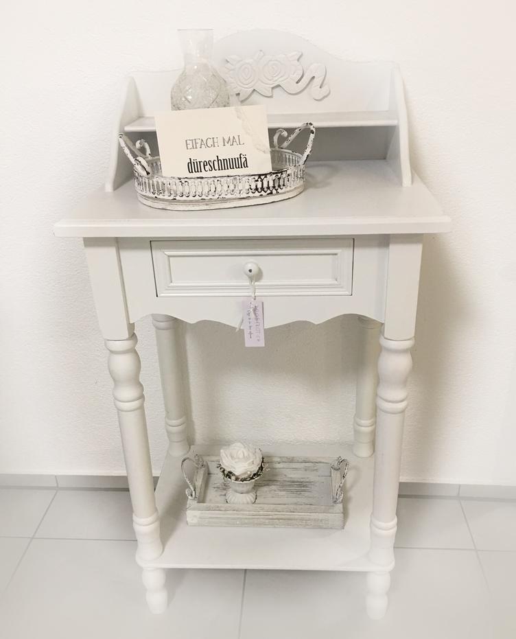 shabby chic beistelltisch 3816 beistelltische m bel atelier roosarot. Black Bedroom Furniture Sets. Home Design Ideas