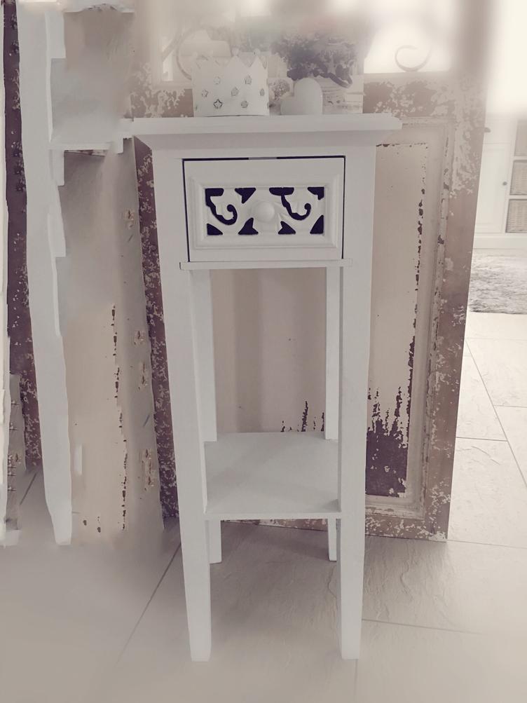 shabby chic beistelltisch 3812 beistelltische m bel atelier roosarot. Black Bedroom Furniture Sets. Home Design Ideas