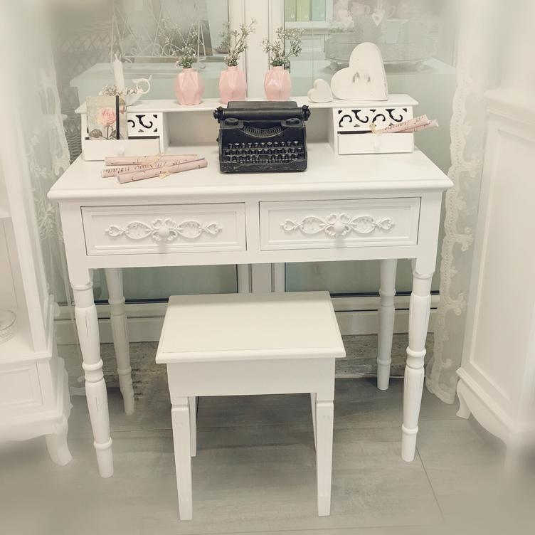 shabby chic sekret r 3814 sekret r schminktische m bel atelier roosarot. Black Bedroom Furniture Sets. Home Design Ideas
