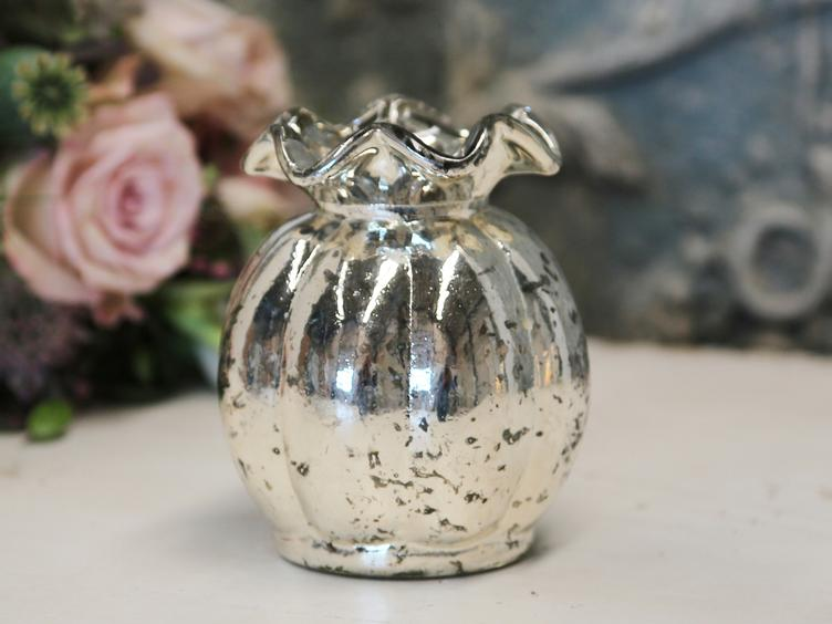 Vase antique silber
